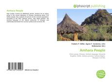 Bookcover of Amhara People