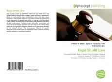 Bookcover of Rape Shield Law