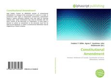 Couverture de Constitutional Amendment