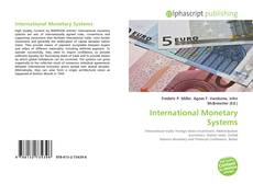 Bookcover of International Monetary Systems