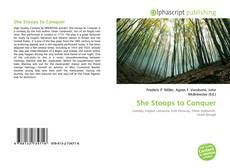 Bookcover of She Stoops to Conquer