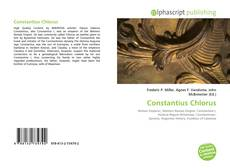 Capa do livro de Constantius Chlorus