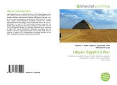 Libyan–Egyptian War kitap kapağı
