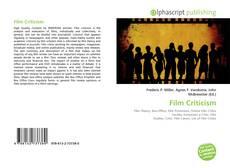 Portada del libro de Film Criticism