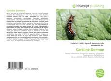 Capa do livro de Caroline Dormon