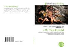 Portada del libro de Li Shi (Tang Dynasty)