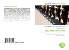 Bookcover of Japanese Red Army