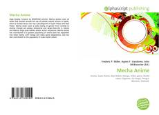 Bookcover of Mecha Anime