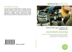 Capa do livro de Journalism sourcing