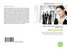Bookcover of IBM System/38
