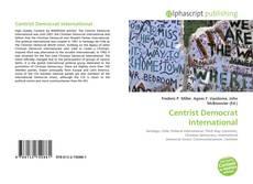 Borítókép a  Centrist Democrat International - hoz