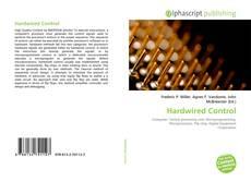 Capa do livro de Hardwired Control