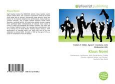 Klaus Nomi的封面