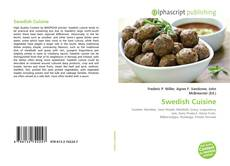 Couverture de Swedish Cuisine