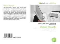Bookcover of Memory Hierarchy