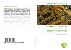 Bookcover of Memory Controller