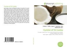 Portada del libro de Cuisine of Sri Lanka