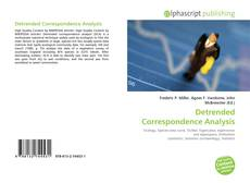 Bookcover of Detrended Correspondence Analysis