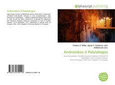 Portada del libro de Andronikos II Palaiologos