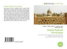 Dadala Raphael Ramanayya kitap kapağı