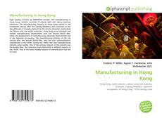 Manufacturing in Hong Kong kitap kapağı