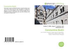 Bookcover of Constantine Bodin