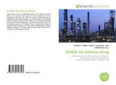 Buchcover von 4708th Air Defense Wing