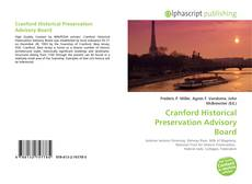 Bookcover of Cranford Historical Preservation Advisory Board