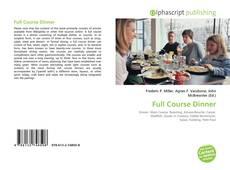 Copertina di Full Course Dinner