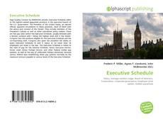 Portada del libro de Executive Schedule