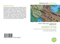Bookcover of Kingdom of Iraq