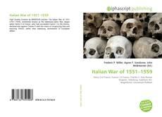 Portada del libro de Italian War of 1551–1559