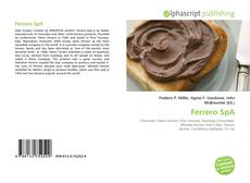 Borítókép a  Ferrero SpA - hoz