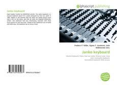 Capa do livro de Janko keyboard