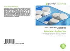 Bookcover of Jean-Marc Lederman