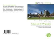 Bookcover of Provinces de l'Argentine