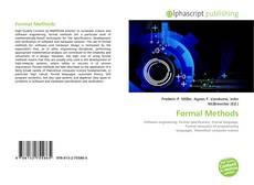 Bookcover of Formal Methods