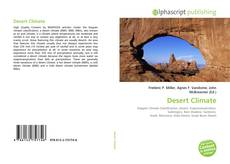 Bookcover of Desert Climate