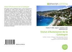 Bookcover of Statut d'Autonomie de la Catalogne