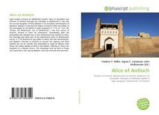 Borítókép a  Alice of Antioch - hoz