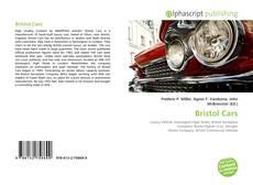 Portada del libro de Bristol Cars
