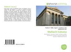 Portada del libro de Malliavin Calculus