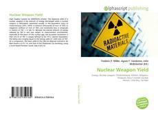 Nuclear Weapon Yield的封面