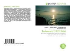 Bookcover of Endurance (1912 Ship)