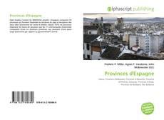 Bookcover of Provinces d'Espagne