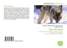 Portada del libro de Type (Biology)