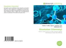 Bookcover of Dissolution (chemistry)