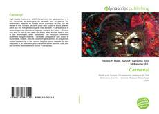 Bookcover of Carnaval
