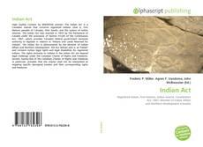 Capa do livro de Indian Act