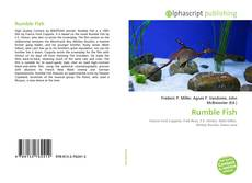 Bookcover of Rumble Fish